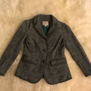 LOFT grey wool blazer